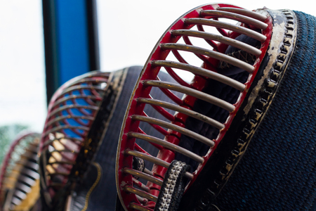 combative sport: Japanese kendo, a sport that has been very popular.