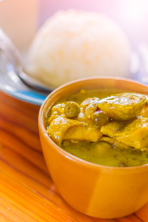 beneficial: Thailand Green Curry dishes are very popular with Thailand delicious herbs that are beneficial to the body.