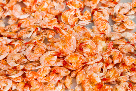 stuff fish: Dried shrimp, dried them to make food has been very popular in Thailand.