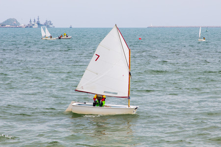 Sailing is a water sport that is fun and healthy.