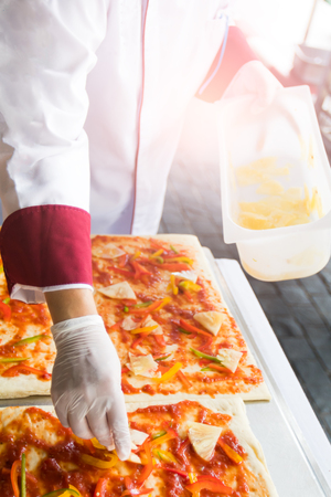 Pizza is an Italian restaurant that is popular around the world cooked by chefs who are capable of doing the dishes cooked with tomato sauce and a variety of vegetables and herbs.