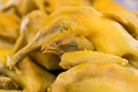 Huhn gekocht mit Fischsauce ist eine köstliche Thai-Menü zu essen und verwenden in verschiedenen Zeremonien