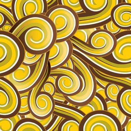 Retro Seamless Pattern Illustration