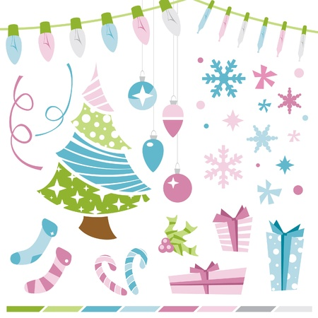 Christmas Elements Illustration