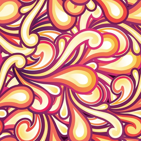 Retro Seamless Pattern Illustration