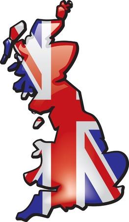 great britain: Grande-Bretagne Illustration