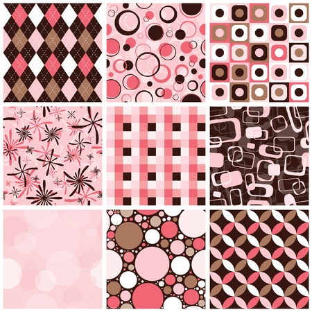 Seamless Patterns Illustration
