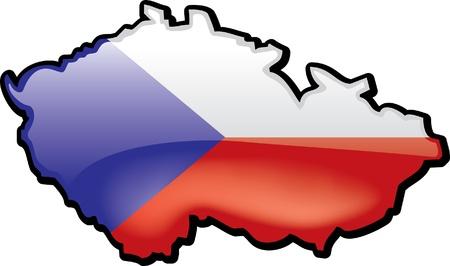 Czech Republic Illustration