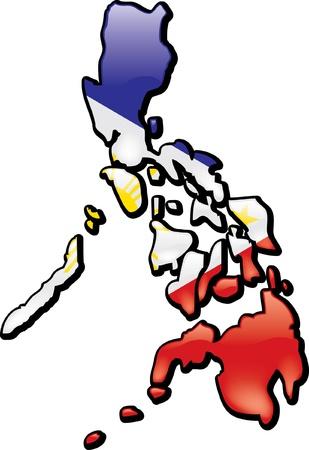 Filippijnen Stock Illustratie