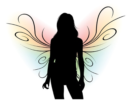 Vrouwelijke Silhouet