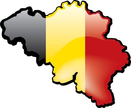 Belgium Иллюстрация