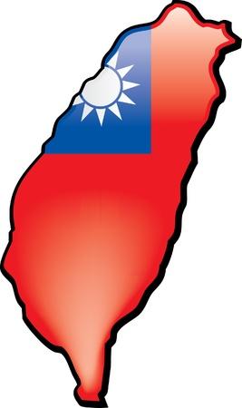 Taiwan Stock Illustratie