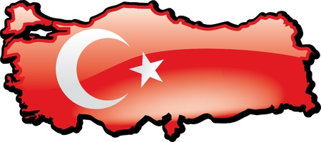 Turkije Stock Illustratie