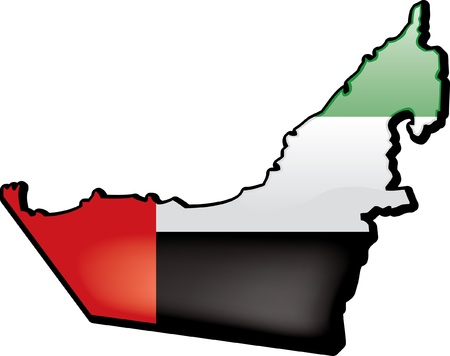 United Arab Emirates Иллюстрация