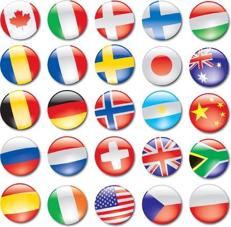 bandera argentina: Iconos de los países