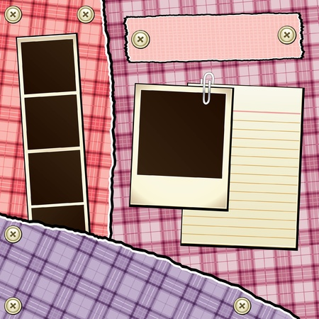 index card: Scrapbook Template