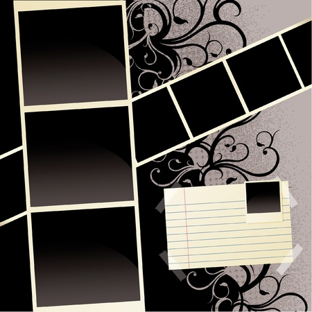 Grunge Scrapbook Pattern
