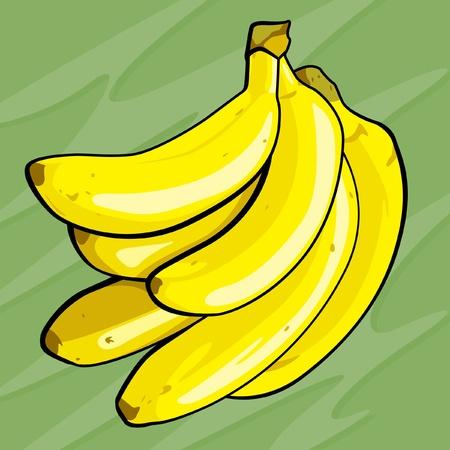 Banana Illustration Illustration