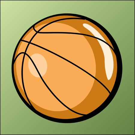 Basketball Illustration Illustration