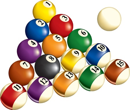 Billiards Ilustrace