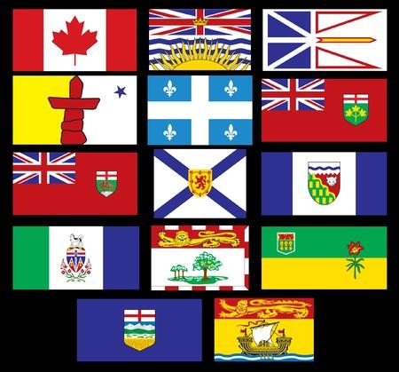 ontario: Bandiere canadesi
