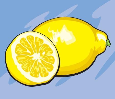 Schijfje citroen Stockfoto - 12857361