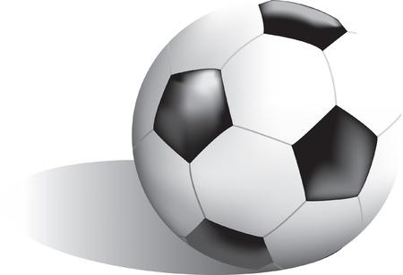 Bal van het voetbal Stock Illustratie