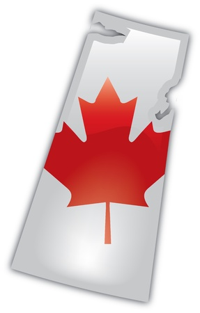 Gedetailleerde Kaart van Saskatchewan