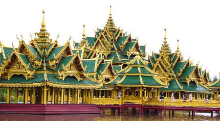 fames: Architecture in ancient city samutsakorn, thailand