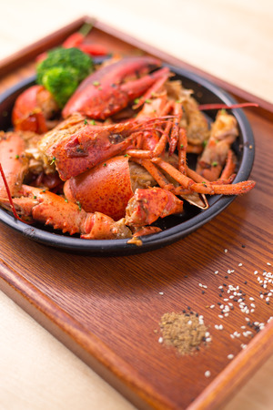 wobble: Seafood Lobster Stock Photo
