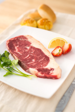 western food: Western food beef steak