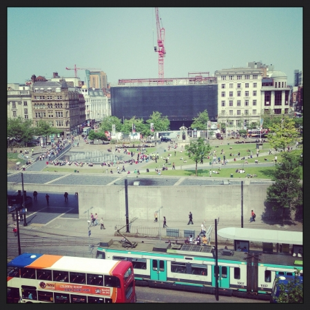 piccadilly: Piccadilly gardens