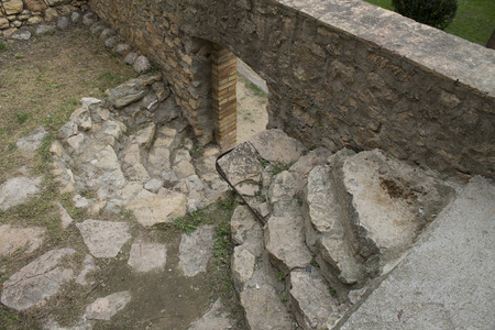 Stairs in Sant Llorens de Montgai