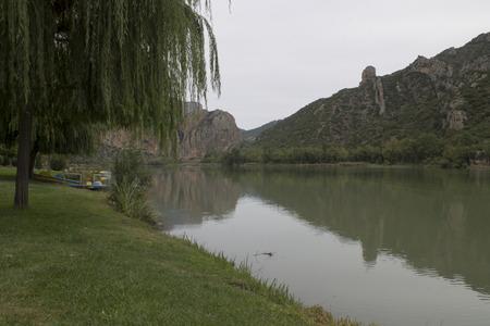 Pantano de Sant Llorens de Montgai Foto de archivo - 47173076