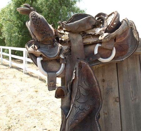 Worn Out Saddle