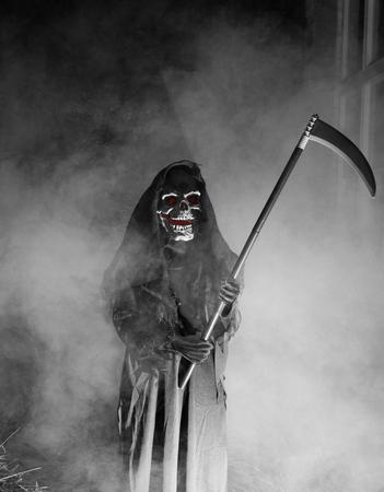 grim: Grim Reaper Stock Photo