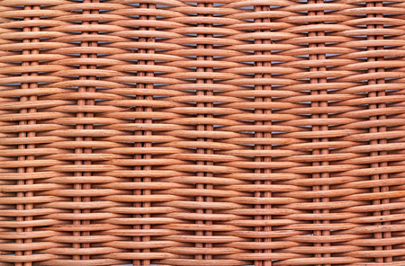 interweave: Background texture of handmade interlaced cane mat Stock Photo