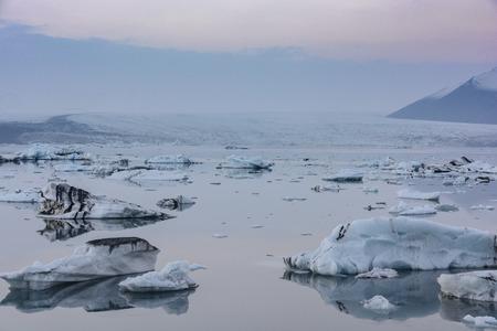 Blocks of ice in the Arctic