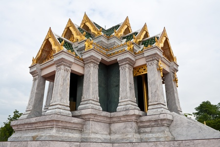 Thai style building in Thailand  photo