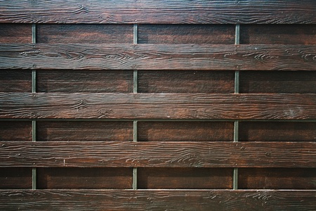Dark brown modern wooden wall photo