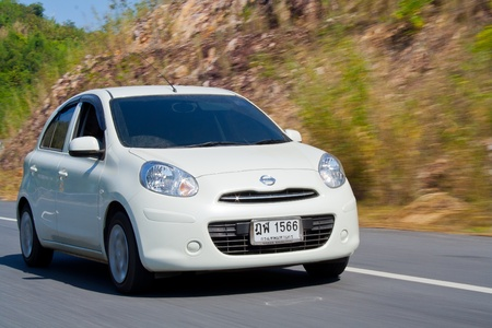 nissan: NISSAN MARCH : This Eco-car sits on a new platform and comes with a new 78 bhp108 Nm 1.2-litre, 3-cylinder engine and achieve at least 20 kml and emit less than 120gkm of CO2.