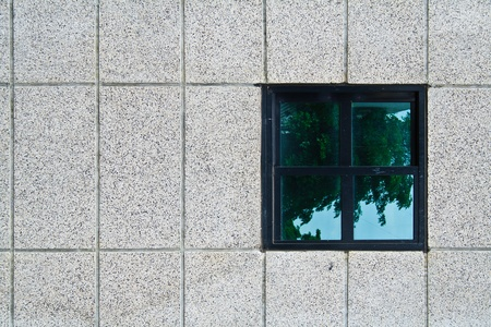 A window on a wall  photo