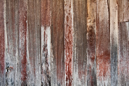 Weathered wooden exterior wall  photo