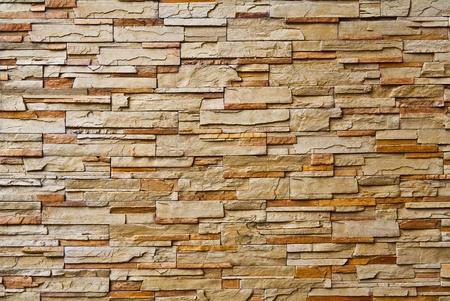piso piedra: El nuevo dise�o de la pared moderna Foto de archivo