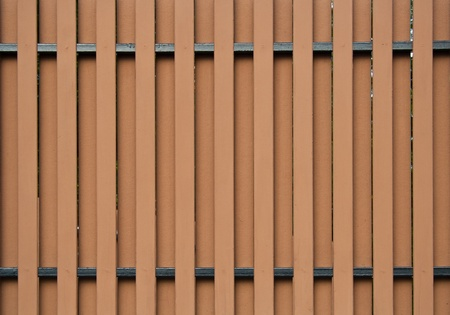 The modern wooden fence Stock Photo - 12579329