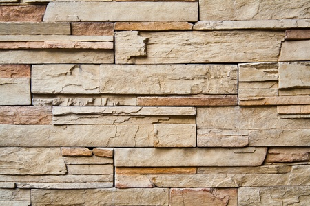 Closeup shot of designed pattern and texture of modern wall photo