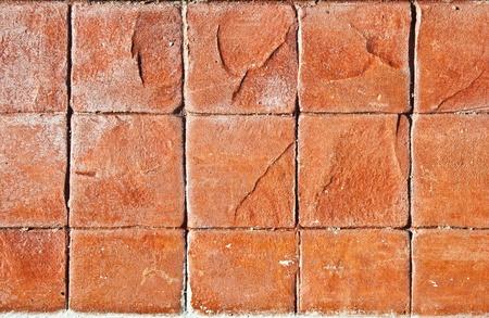 Pattern of stone wall photo