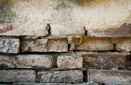 Closeup shot of ancient wall in Thailand Stock Photo - 13400563