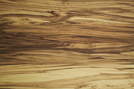 Dark brown wood-grain on a wall Stock Photo
