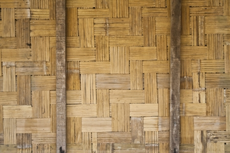 partition: Pattern of bamboo partition Stock Photo